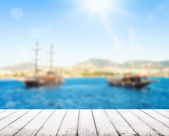 Pirate boat — Stockfoto