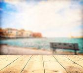 牧歌的な海の風景 — ストック写真