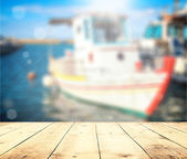 Harbor in Greece, Crete — Stock Photo