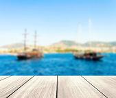 Pirate boat — Stock Photo