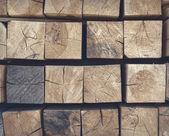 Stack wood — Stock Photo