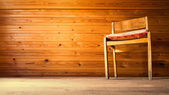 Chair in vintage interior — Stock Photo