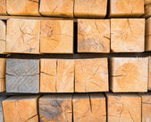 Stack wood — Stock Photo
