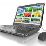 Laptop isolated — Stock Photo #1035859