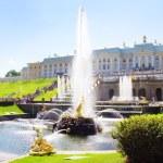 Grand cascade in Pertergof. Saint-Petersburg, Russia. — Stock Photo #12037548