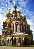 Church of the Savior on Blood. St. Petersburg, Russia — Stock Photo