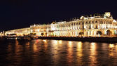 Winter Palace. St. Petersburg, Russia — Stock Photo