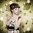 Pin-up girl — Stockfoto