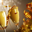 Glasses of champagne — Stock Photo #16888849