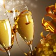 Glasses of champagne — Stockfoto #16888849