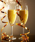 Glasses of champagne — Foto Stock