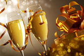Glazen van champagne — Stockfoto