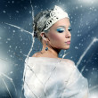 Winter Queen — Stock Photo