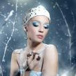 Winter Queen — Stock Photo #34308759