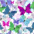 Seamless spring pattern — Stockvektor