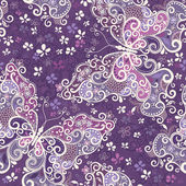 Seamless violet motley pattern — Stock Vector