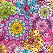 Royalty-Free Stock Vektorfiler: Seamless floral pattern
