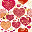 Seamless valentine pattern — Stock Vector #15765817