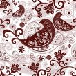 Valentine repeating pattern — Stock Vector