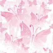 Seamless pink grunge pattern — Stock Vector