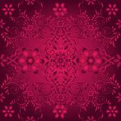Seamless floral vinous pattern — Stock Vector