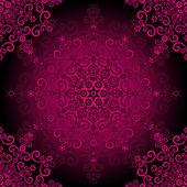 Seamless purple vintage pattern — Stock Vector