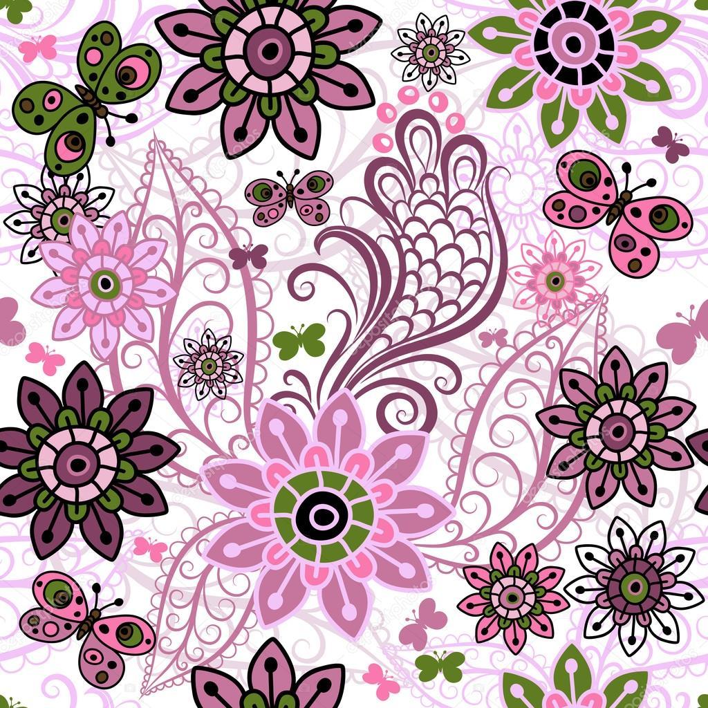 Фото цветов и узоров