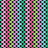 Seamless pattern with polka dots — ストックベクタ