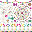Royalty-Free Stock Vector Image: Set colorful design elements