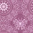 Vintage pink seamless pattern — Stock Vector