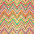 Seamless colorful zigzag pattern — Stockvektor