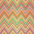 Seamless colorful zigzag pattern — ストックベクタ
