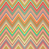 Seamless colorful zigzag pattern — Stock Vector