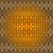 Seamless golden wave pattern — Stock Vector