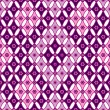 Stock Vector: Pink-violet seamless pattern