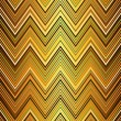 Seamless gold zigzag pattern — Stock Vector