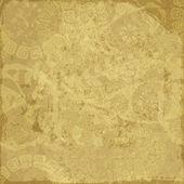 Starý papír žlutý grunge — Stock vektor