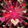 Vector de stock : Seamless valentine pattern