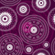 Vintage purple seamless pattern — Stock Vector