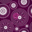Vintage purple seamless pattern — Stockvectorbeeld