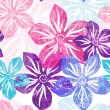 Seamless floral gentle pattern — Stock Vector
