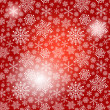 Seamless red christmas pattern — Stock Vector