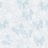 Seamless silvery Christmas pattern — Vector de stock