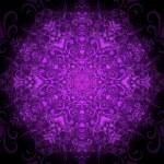 Dark violet round pattern — Stock Vector
