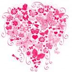 Valentine greeting card — Stock Vector
