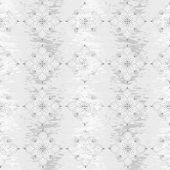 Seamless grungy floral pattern — Stock Vector