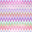 Colorful grungy zigzag pattern — Stock Vector