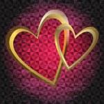 Valentine dark grunge frame — Stock Vector #39485203