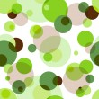 Repeating pattern with circles — Stock Vector #7397528