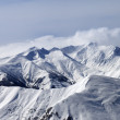 Stock Photo: Winter mountains in haze